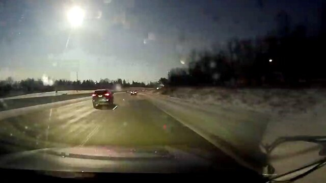 Meteor spotted in Ohio, Michigan