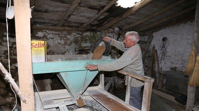 في تركيا طاحونة مائية تدور منذ 300 عامٍ