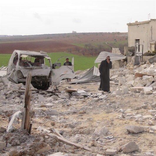 İdlib'e saldırılar devam ediyor