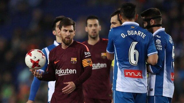 Messi kaçırdı <br>Barcelona yıkıldı