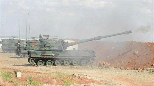المدفعية التركية تدك أوكار الإرهابيين في عفرين