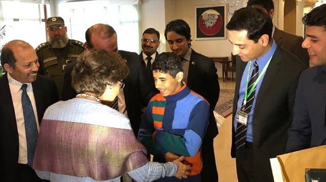 Pakistan reunites Afghan child with his family