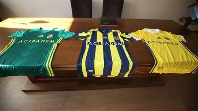 Fenerbahçe'nin forma sponsoru 'Acıbadem' oldu