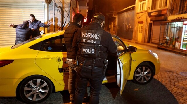 Turkey arrests 43 in anti-narcotics operations