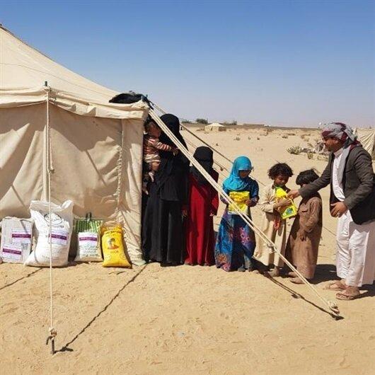 Türkiye'den Yemen'e acil gıda yardımı
