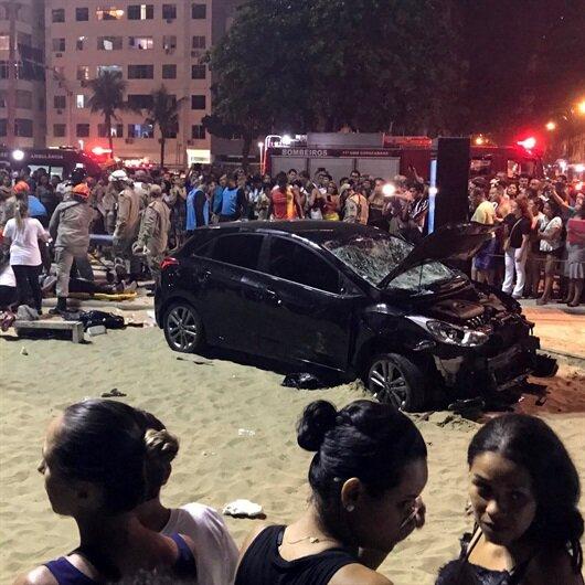 Brezilya'da araç plaja daldı: 1 bebek öldü