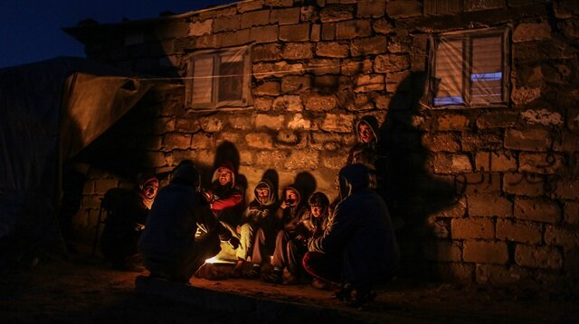 Gazze'de kış