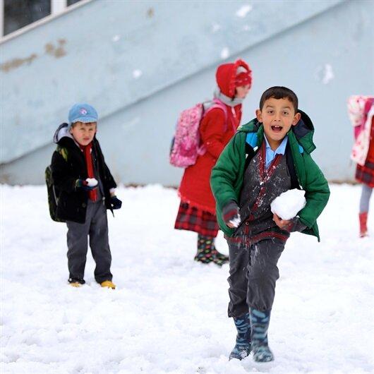 Karaman'da okullar tatil edildi