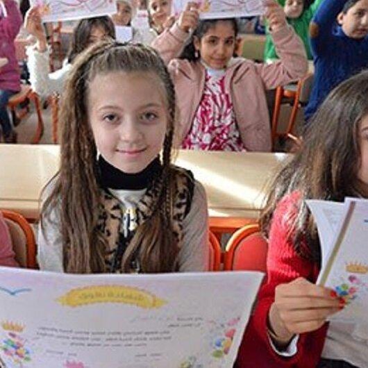 73 ألف سوري يتسلمون بفرح شهاداتهم المدرسية في أورفه التركية