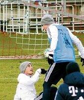 Bayern'de kavga çıktı