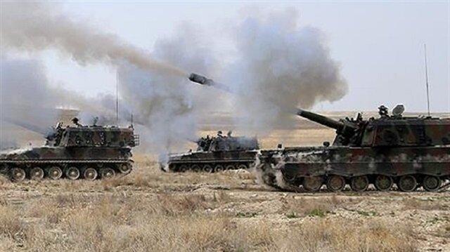 الجيش التركي يستهدف تحصينات وأوكار