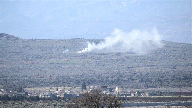 المدفعية التركية تقصف مواقع
