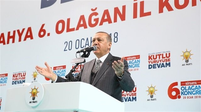 Erdoğan says Turkey is doing what is 'necessary' after Afrin operation starts