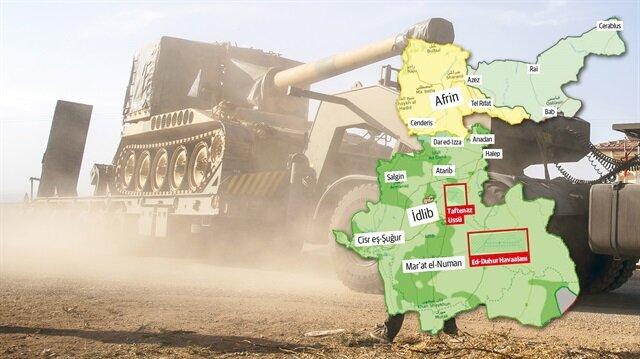 Son Dakika: Afrin'e Zeytin Dalı operasyonunda dakika dakika son gelişmeler
