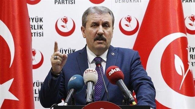 Destici: AK Parti-MHP ittifakına destek olacağız