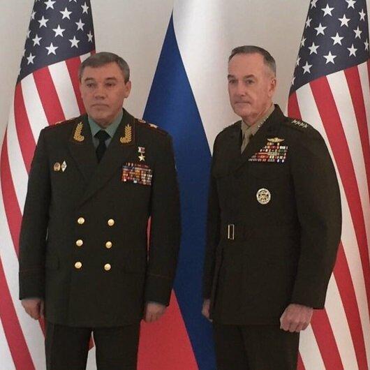 ABD ve Rusya Genelkurmay başkanları Suriye'yi görüştü