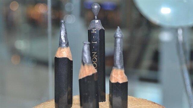 'Kalemin Ucundaki Sanat' sergisi açıldı