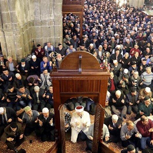 Erzurum'da '1001 Hatim' duası yapıldı
