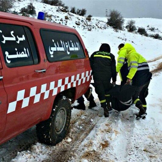 Göçmenler karlı sınırda donarak öldü