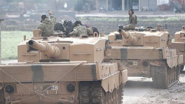 القوات التركية تتقدّم بمناطق احتلال