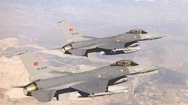 القوات الجوية التركية تواصل تحركاتها ضمن إطار