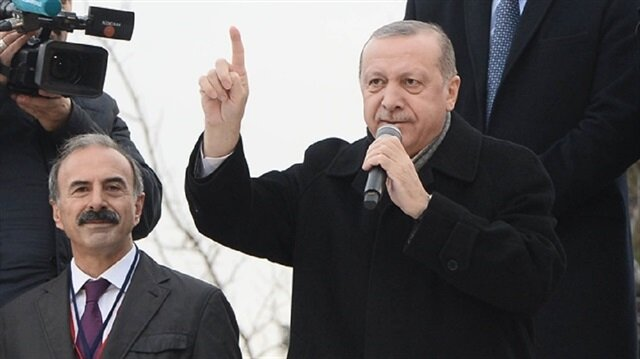 أردوغان: سننهي عملية غصن الزيتون في أقرب وقت