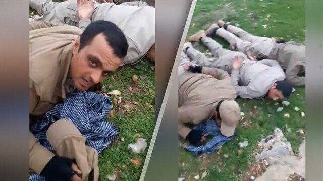 Afrin Harekatında PKK'lı teröristler böyle yakalandı!