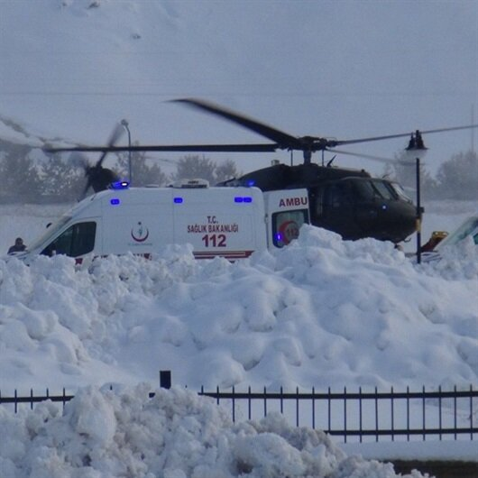 Bitlis'te acı haber: <br>5 şehit, 12 yaralı
