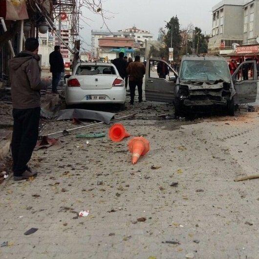 Reyhanlı'ya <br>roketli saldırı