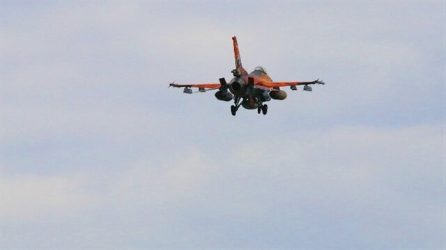 Afrin 32 uçakla 45 hedef imha edildi