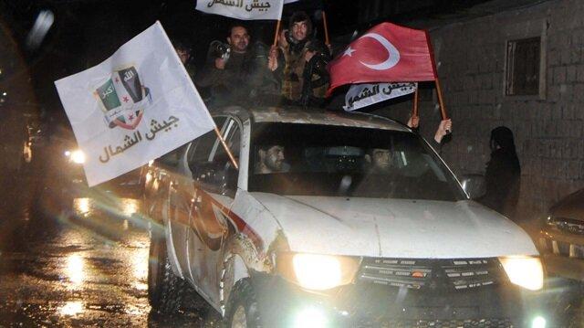 Afrin'de geniş çaplı harekat başladı