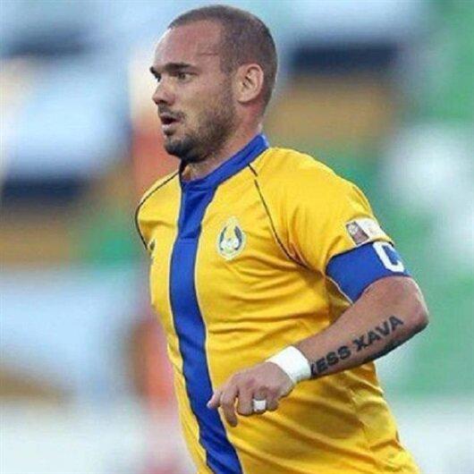 Sneijder Katar'daki ilk golünü attı