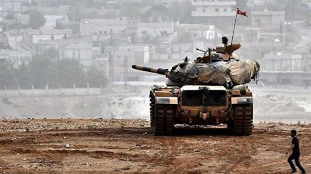 المدفعية التركية تستهدف المواقع العسكري لـ