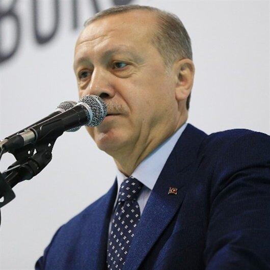 Erdoğan net konuştu: Afrin operasyonunun ekonomiye olumsuz etkisi olmayacak