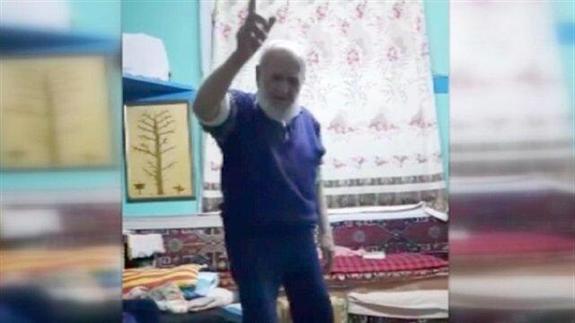 88 yaşındaki dede Musluhittin Dede askere gitmek istiyor