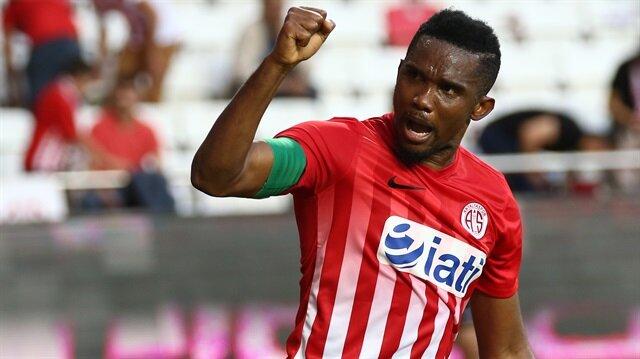 Antalyaspor'dan yenisafak.com'a Eto'o açıklaması