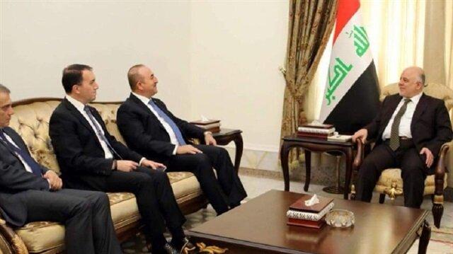 جاويش أوغلو يدعو العبادي لزيارة تركيا