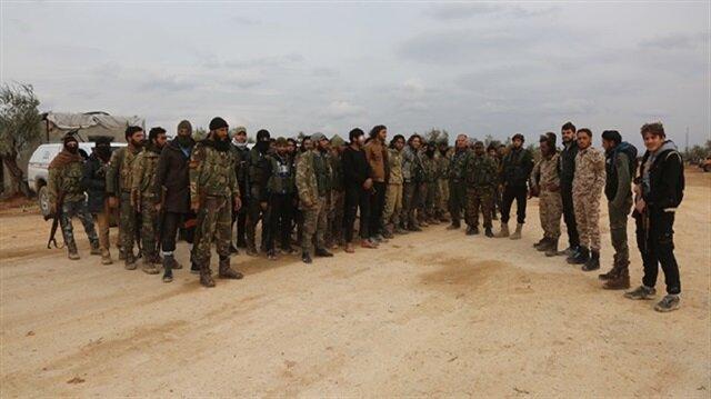قوات تابعة للحكومة المؤقتة السورية تبدأ عمليات ضد الإرهابيين في منبج وعفرين