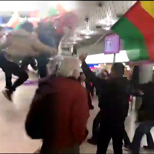 Almanya'da PKK yandaşları Türk yolculardan dayak yedi!