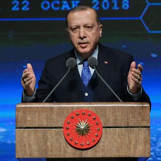 Cumhurbaşkanı Erdoğan: Geri adım atmak yok