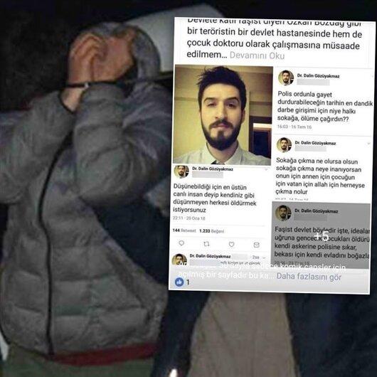 Terör propagandası yapan doktor gözaltına alındı