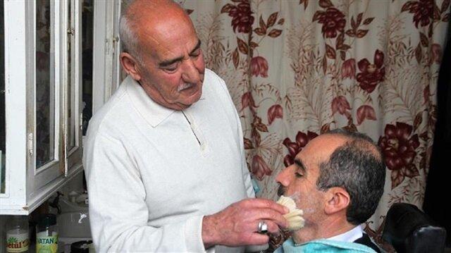 Hairdresser still working half a century on