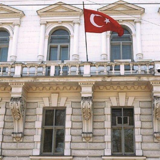 PKK'lılar konsolosluğa saldırdı