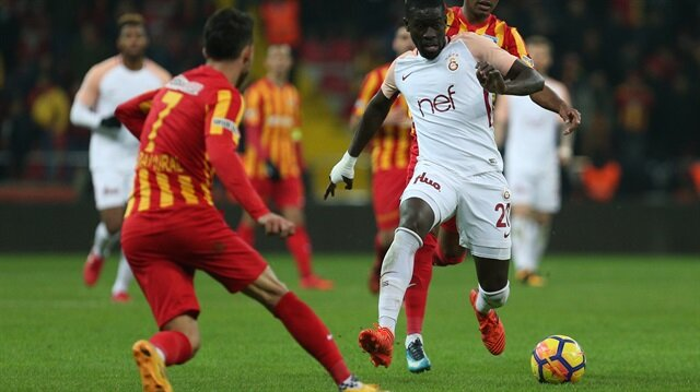 Football: Galatasaray defeat Kayserispor 3-1