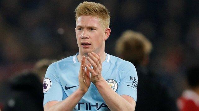 Manchester City De Bruyne ile sözleşme uzattı