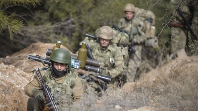 استشهاد جندي تركي في إطار عملية غصن الزيتون