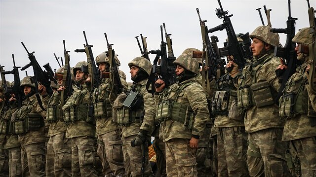 Turkish military neutralizes eight terrorists in Operation Olive Branch