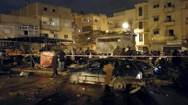 Twin bombing kills 34 in Libya's Benghazi
