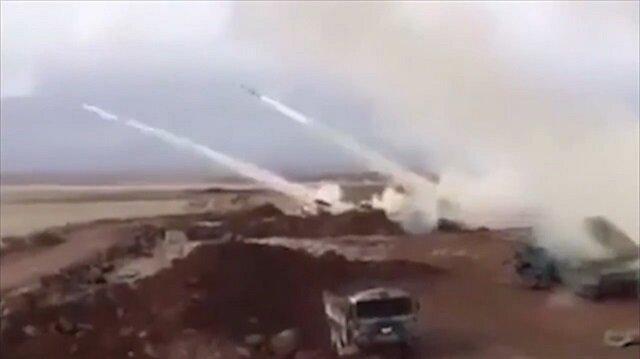 Turkish military strikes PYD/PKK terrorists with missiles