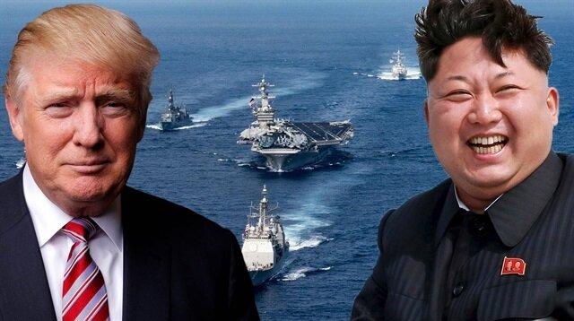 Dünya Pasifikteki güç mücadelesini takip ediyor.